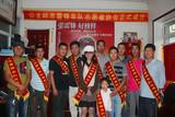 中国文化义工网特约记者采访公主岭雷锋车队队长及代表
