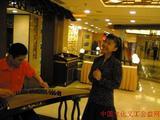 张少伟.紫秋在泉州合演节目