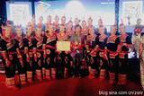 中国文化义工郴州艺术团获得2015乐退族全国文艺大赛银奖