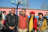 中国文化义工艺术团参加太阳村活动并与韩国大使荣幸合影