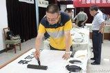 中国文化义工北京书画团王胜利参加走进顺义老区军营活动