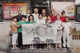 2015爱在千万家金色时光合唱团六位艺术家走进京武警某部