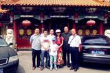 中国文化义工北京天津深圳分会负责人欢送嘉琪离京相聚