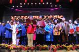忆往昔峥嵘岁月红色文化与中华美德大型公益活动在京召开