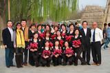 中国文化义工天津酷外婆舞蹈团成员祝福韩嘉琪早日康复