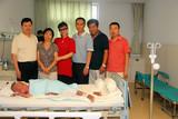 中国文化义工高管团队北京和天津五位负责人探望韩嘉琪