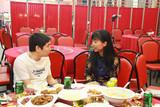 河北晋州志愿者协会会长姬建辉与中国文化义紫秋愉快相聚
