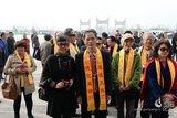 紫秋亲历涡阳天静宫举行的纪念老子诞辰2586周年祈福法会