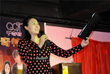 中国文化义工艺术团吉娜朗诵秦家屯中学诗歌《让爱延续》